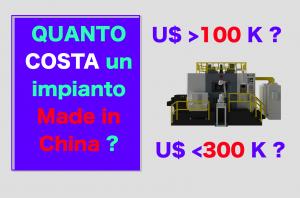 quanto costa una macchina transfer a tavola rotante in Cina?