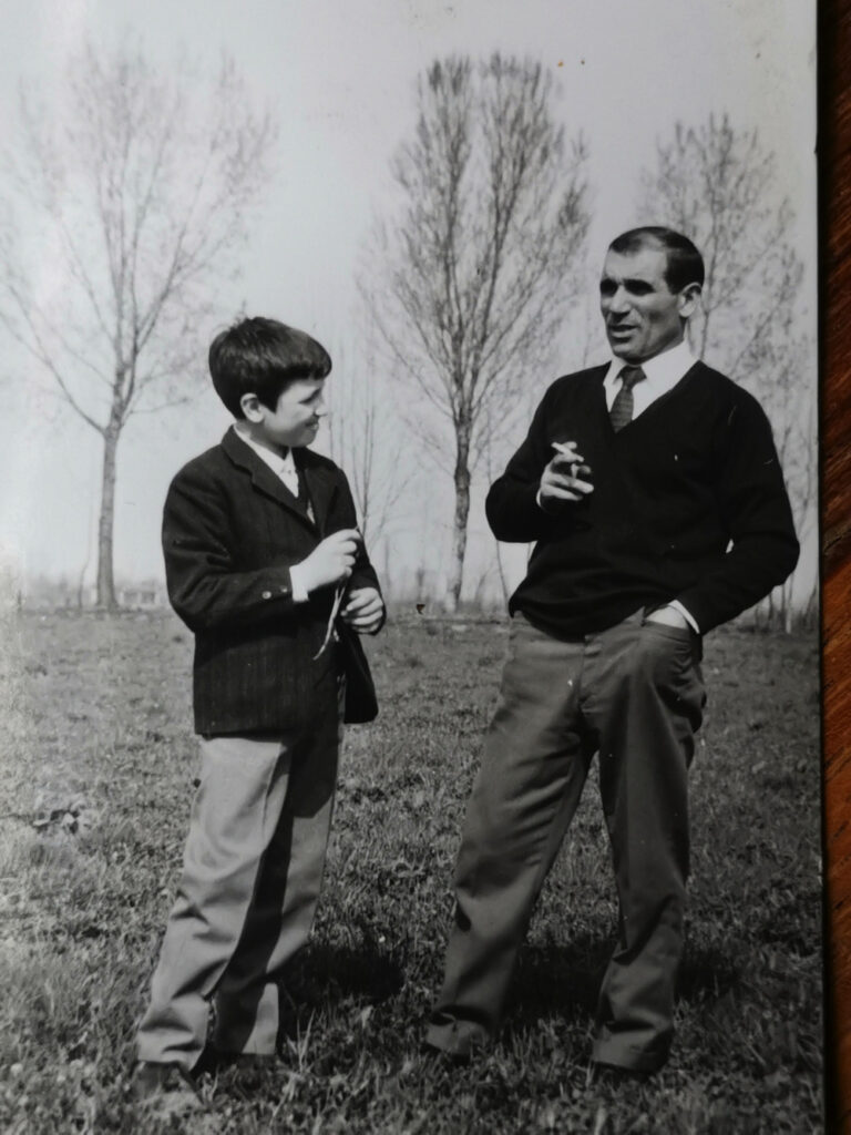 io e papà 1965 Milano