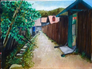 The old home summer - ChangBai Shan Jilin China