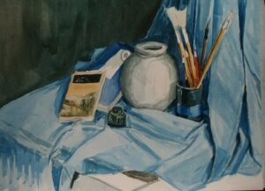 Studio 6 water colors